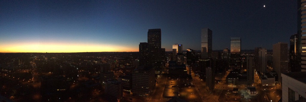 Sunrise Photo from a Penthouse at One Lincoln Park Condominium